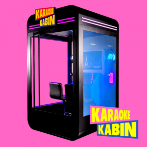 Kabin arcade machine 2 player karaoke box