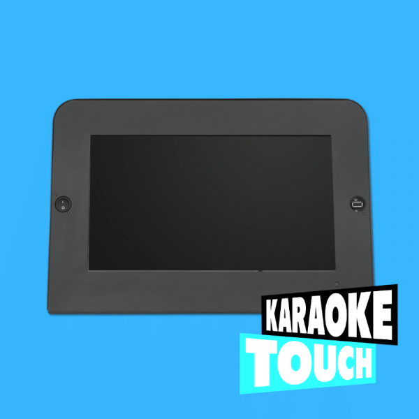 karaoke touch product image with logo
