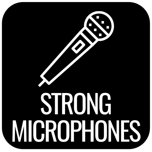 strong microphones
